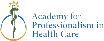 The Academy for Professionalism in Health Care logo